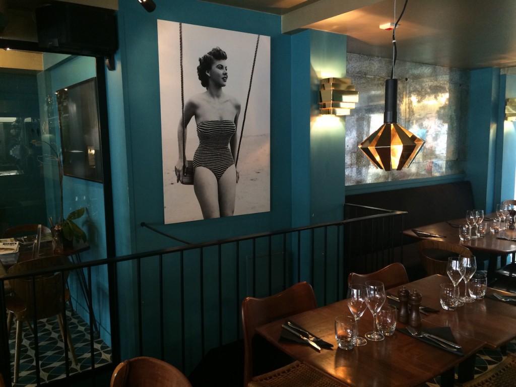 Restaurant de l'hotel Edgar, Paris