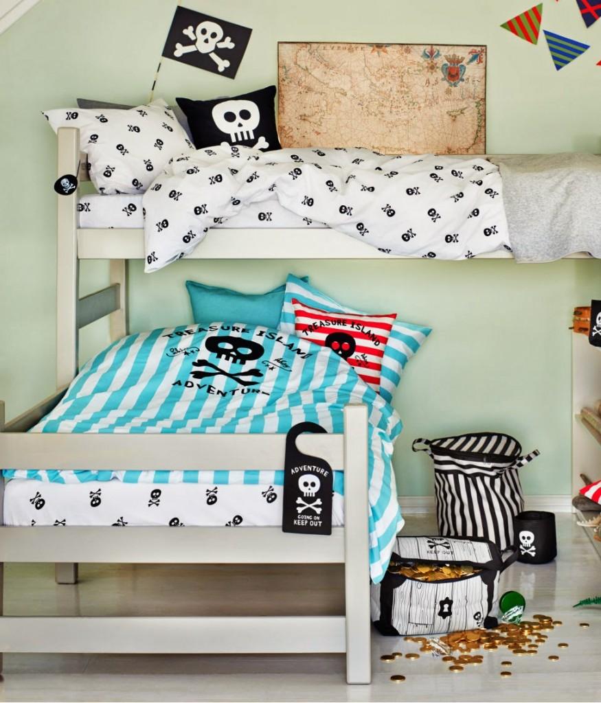 Collection HM Home chambre pirate