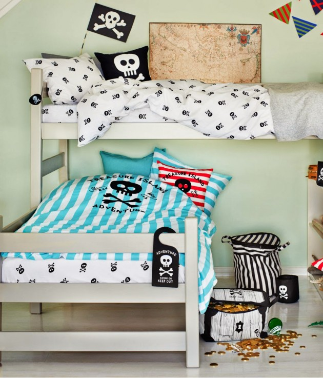 Collection HM Home chambre pirate