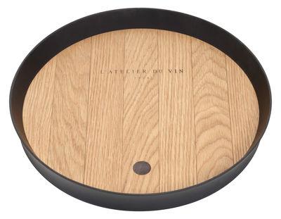 plateau déco bois atelier du vin