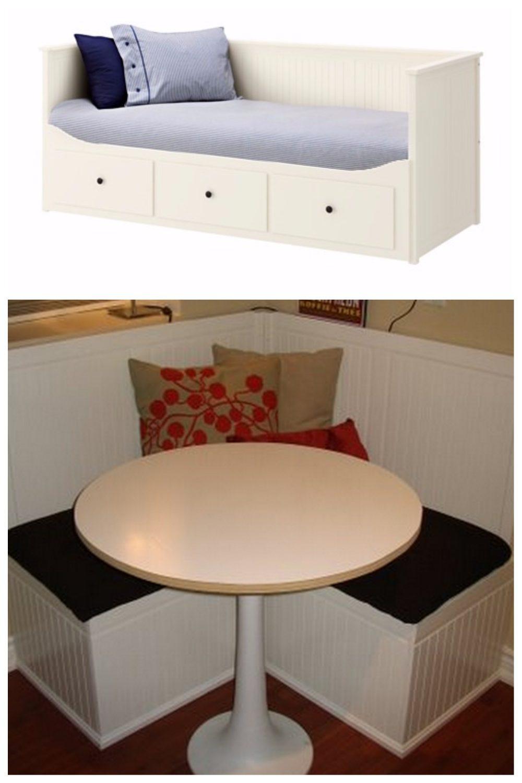transformer un meuble IKEA facilement comment fabriquer une banquette d'angle