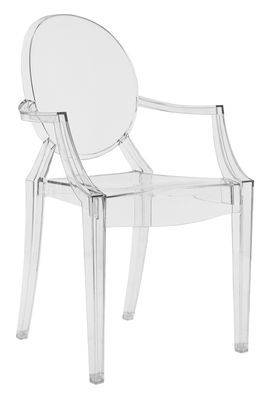 Fauteuil Kartel Louis Ghost by Philippe Starck