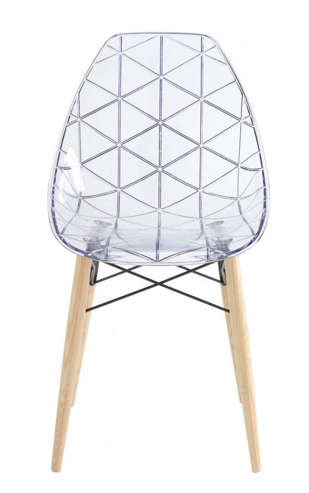 Maison invisible lucid stead blog deco clem around the corner - Chaise transparente habitat ...