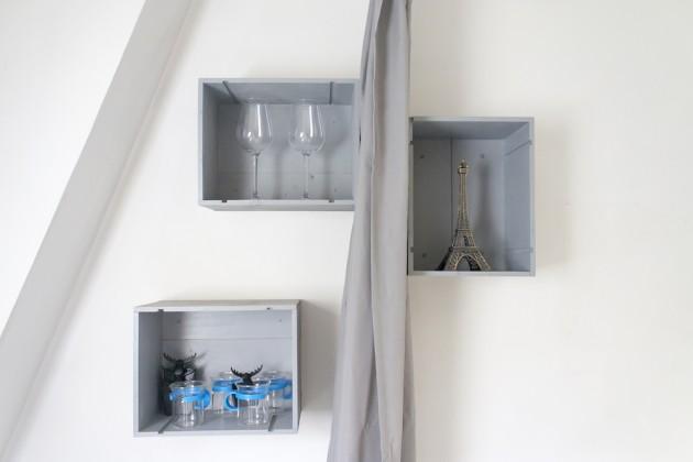 Separer cuisine et chambre avec un rideau