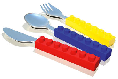 3 Couverts enfant Snack'n stack by Fred - 25,50€