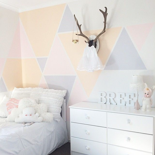 chambre petite fille style scandinave