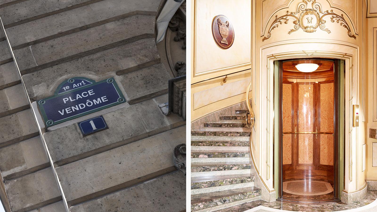 1 place Vendôme restaurant secret et merveilleux.