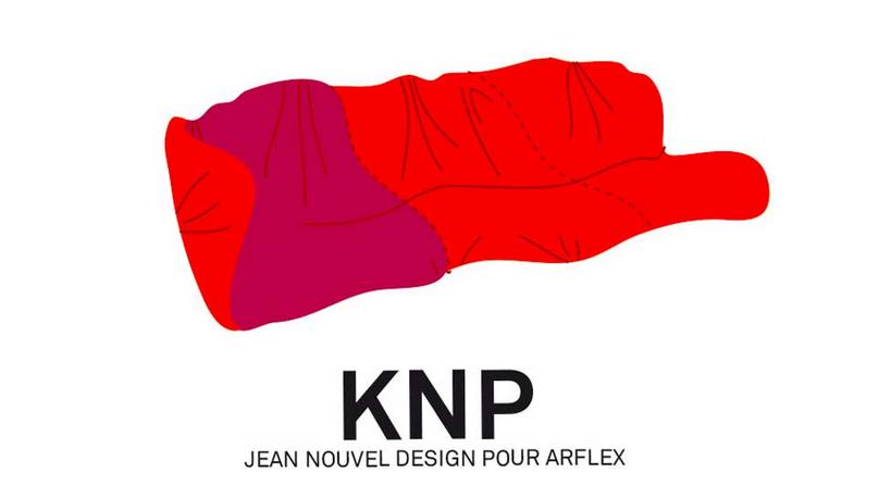 Jean Nouvel Design pour Arflex