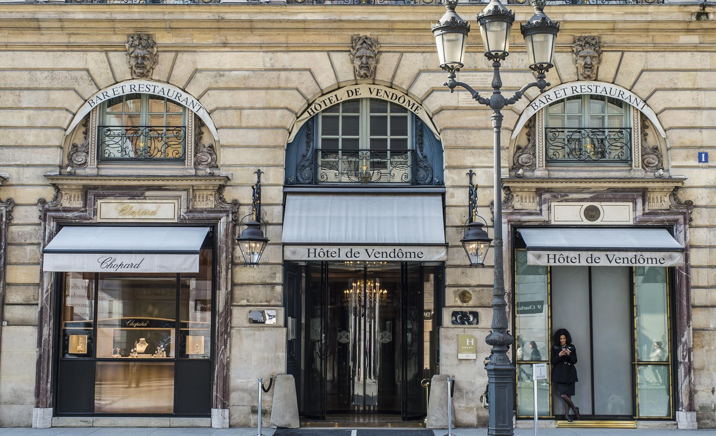 Hôtel de Vendôme, 5 étoiles au plein coeur de Paris.