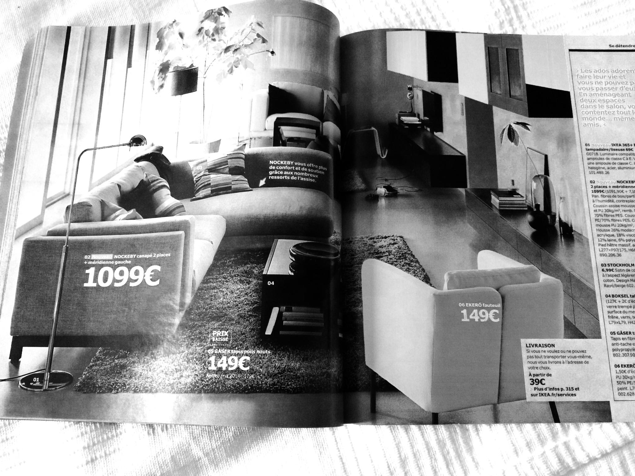 le nouveau catalogue ikea 2015 entre mes mains. Black Bedroom Furniture Sets. Home Design Ideas