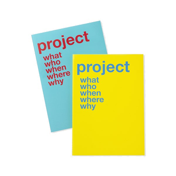 Project notebook by Moma - 10€