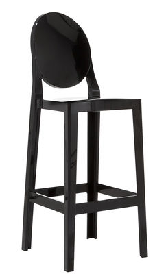 Tabouret One more noir by P. Starck - 255€