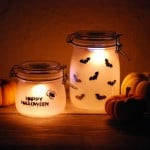 Halloween bougeoir photophore diy