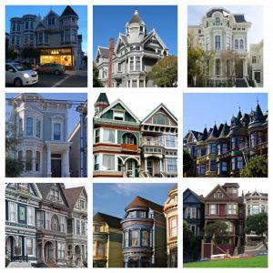 maisons victoriennes San Francisco petite maison de couleur blog déco clem around the corner