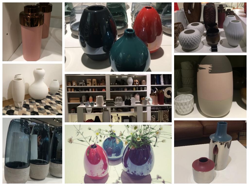 Vase, bougeoir et soliflore BoConcept 2014-2015