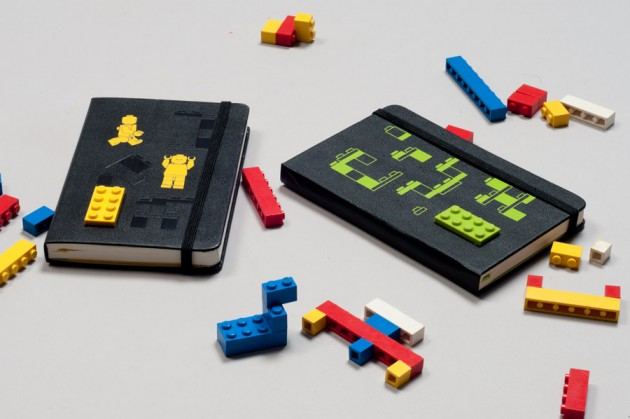 Moleskine Lego carnet de notes.