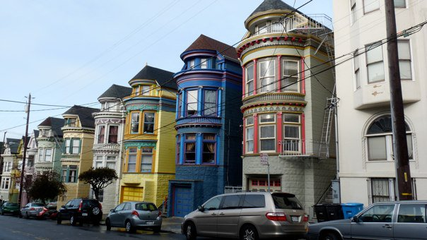 painted ladies maisons victoriennes alamo square