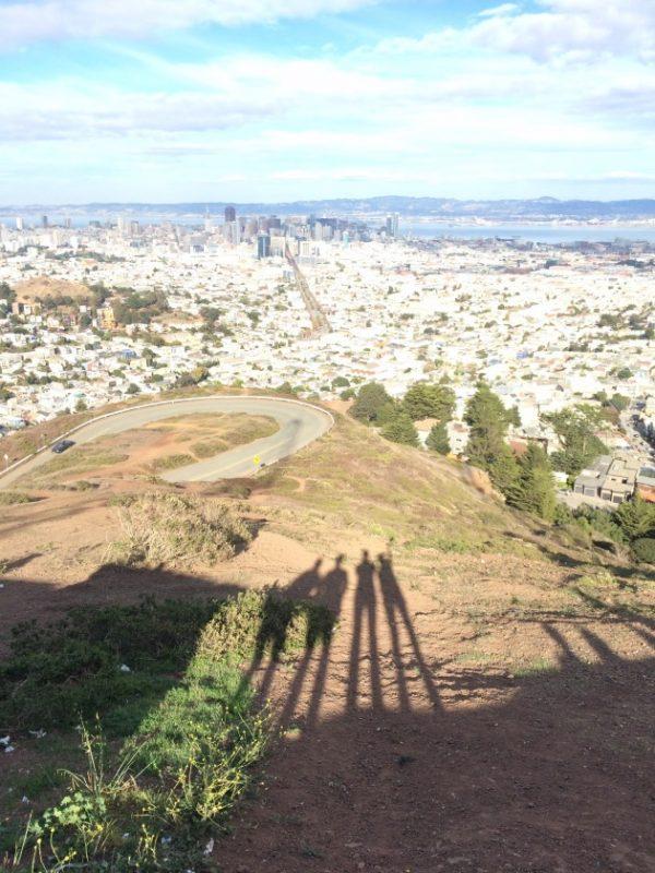SF californie depuis twin peaks