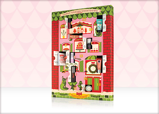 Candy-coated countdown by Benefit Cosmetics