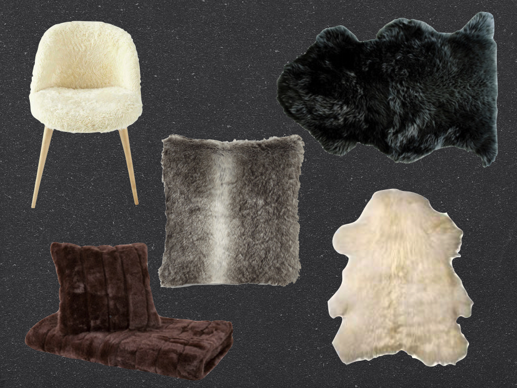 d co fausse fourrure et peaux de b tes pour un hiver cocooning blog d co blog design clem. Black Bedroom Furniture Sets. Home Design Ideas