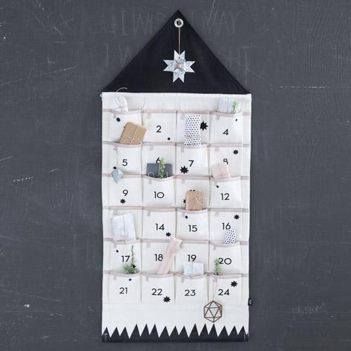Calendrier Noël avant Ferm Living Decoclico