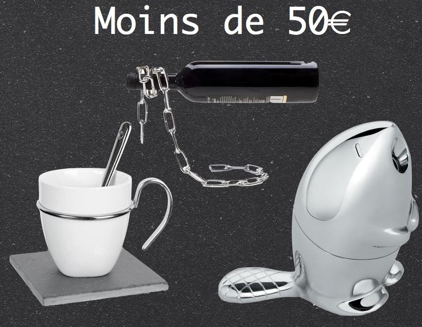 idée cadeau liste déco du pere noel moins de 50 euros