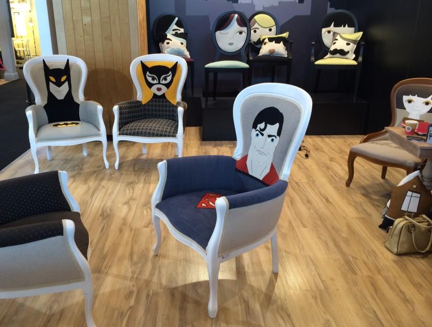 Des chaises super h ros blog d co design clem around - Clem around the corner ...