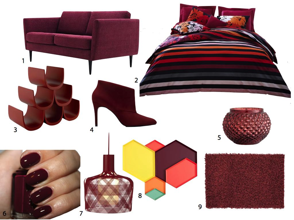 Marsala Pantone couleur de l'annee 2015 color of the year clem around the corner.010
