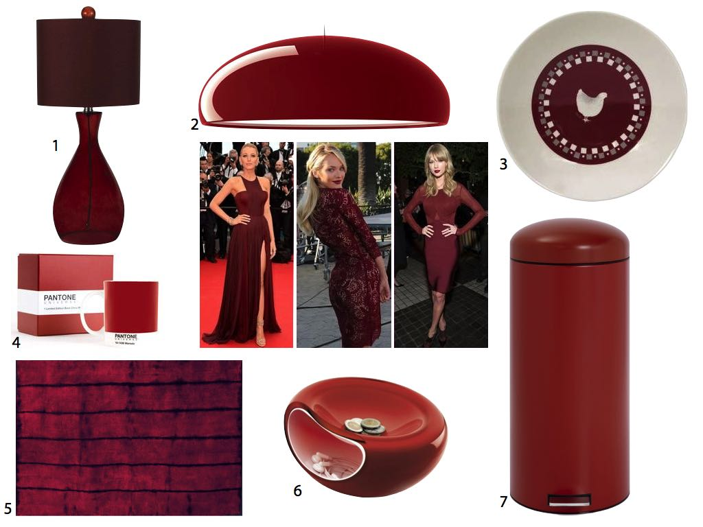 Marsala Pantone couleur de l'annee 2015 color of the year clem around the corner.011