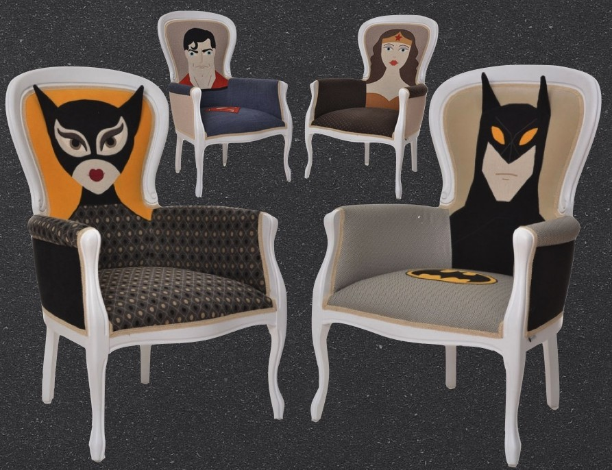 Superhero Chair chaise super hero Irina Neacşu clem around the corner1