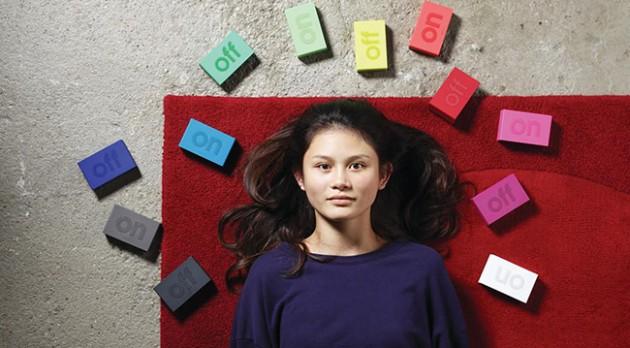 réveil coloré caoutchouc pour chambre adolescent ou enfant ludique