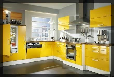 Carnet d 39 inspiration pour cuisine jaune clem around the for Confection cuisine