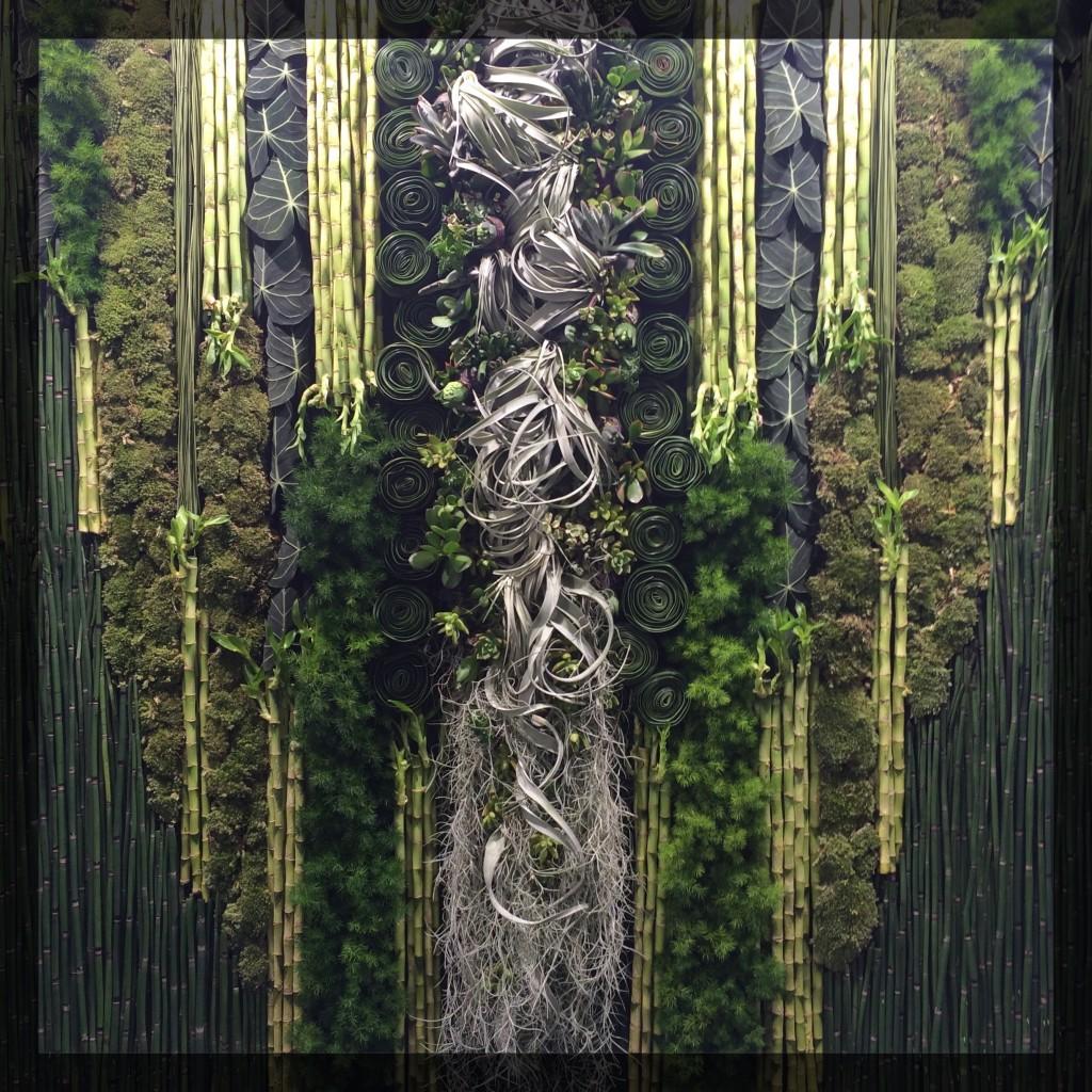 Mur végétal Hibiya Kadan ClemAroundTheCorner