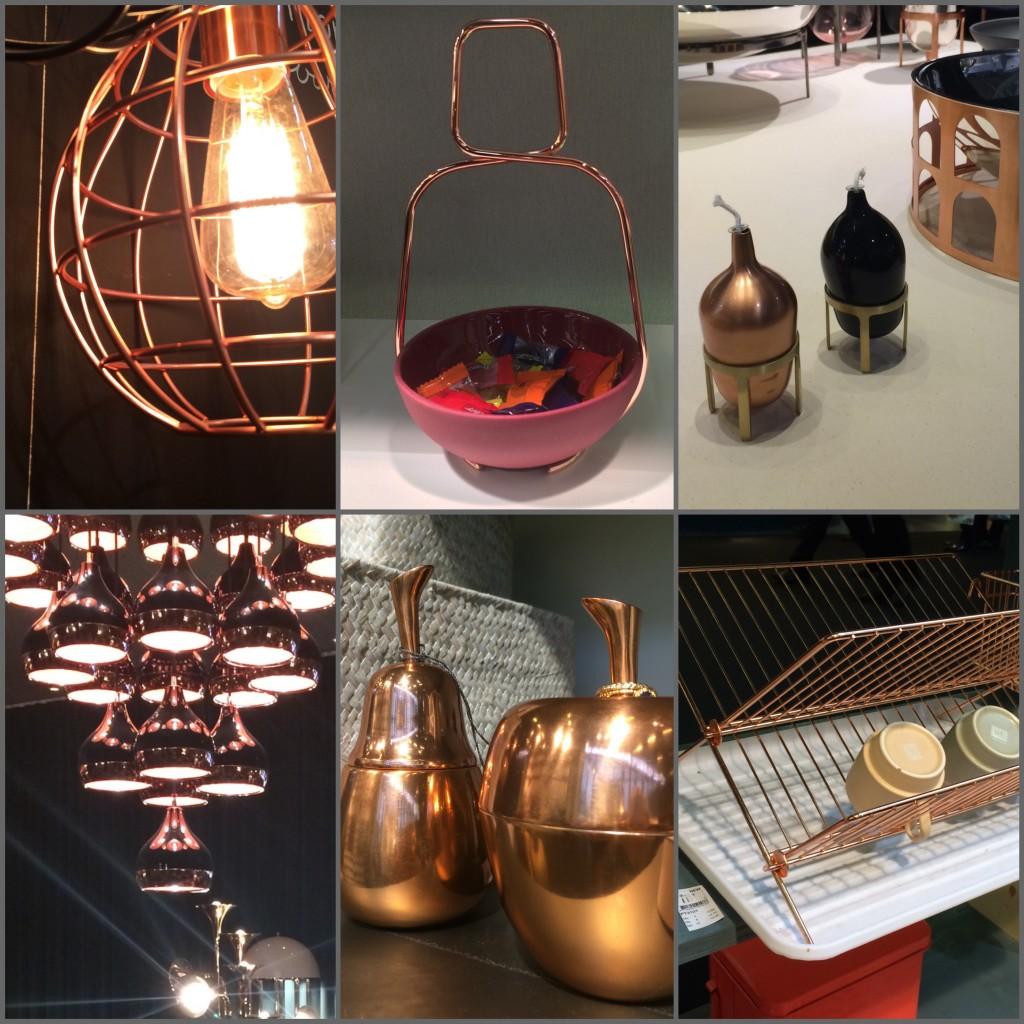 Tendance cuivre Maison et objet 2015 MO15