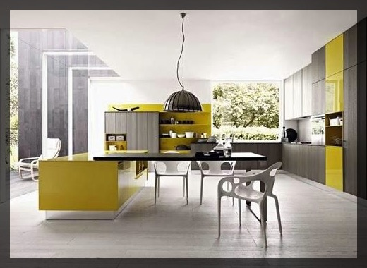 carnet d 39 inspiration pour cuisine jaune clem around the corner. Black Bedroom Furniture Sets. Home Design Ideas
