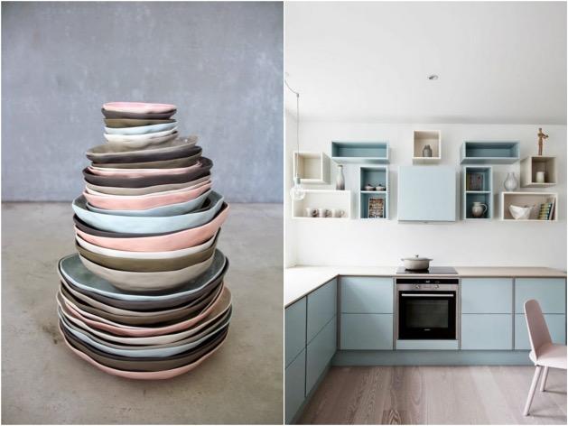 rose quartz bleu serenity cuisine pantone