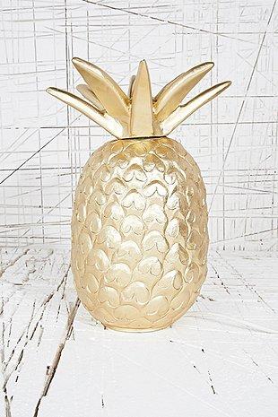 Lampe dorée - 95€.