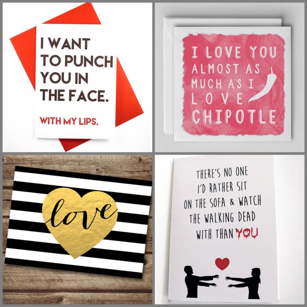 Be my valentine card. carte de saint valentin Etsy. ClemAroundTheCorner.