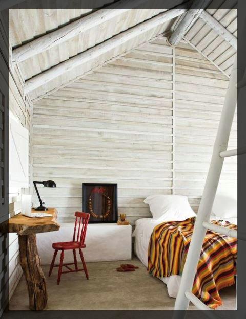 Installer une chambre dans les combles de sa maison.