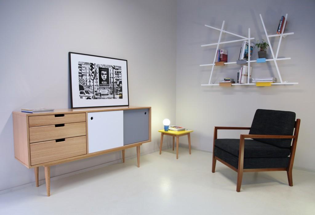 les meubles 50s de kann design.