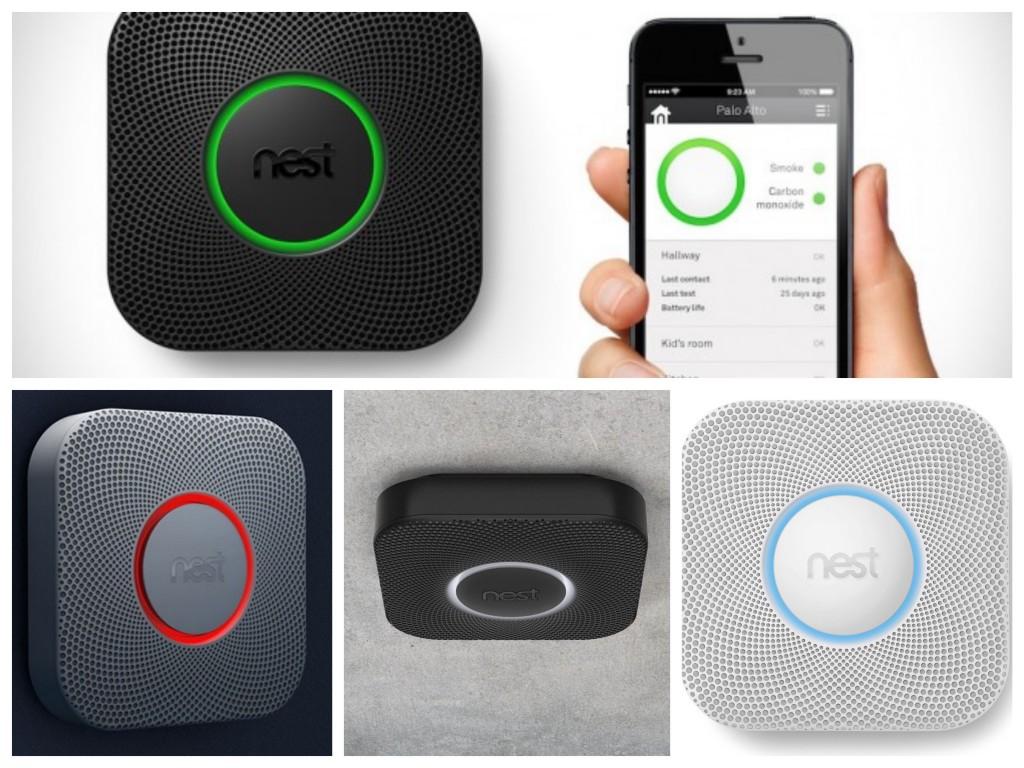 Nest Protect détecteur de fumée design.