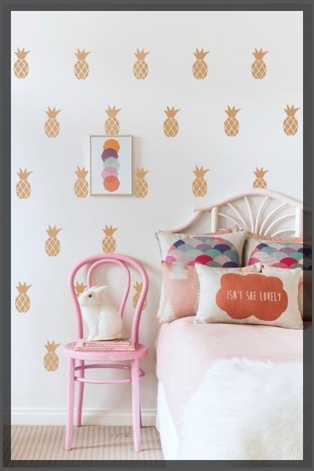 Papier peint chambre d'enfant.