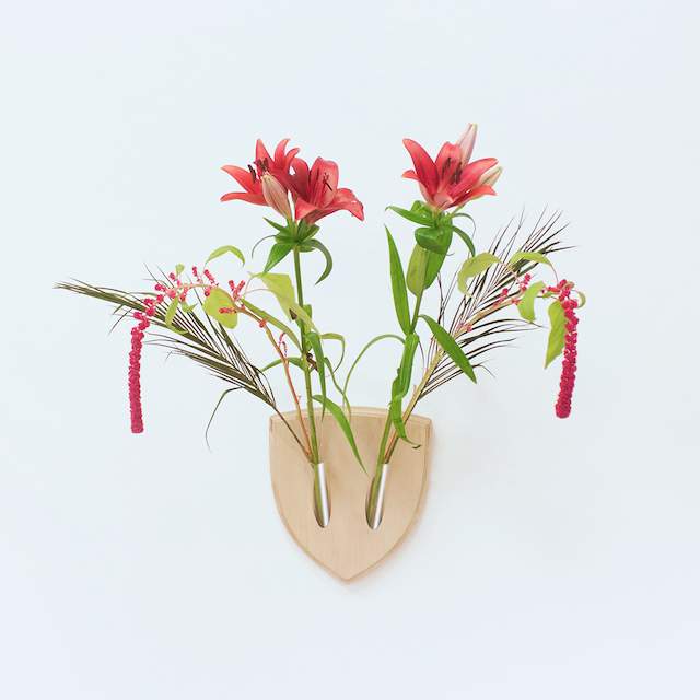 trophée en fleurs Elkebana.