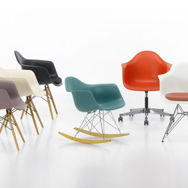 chaise plastique charles et ray eames