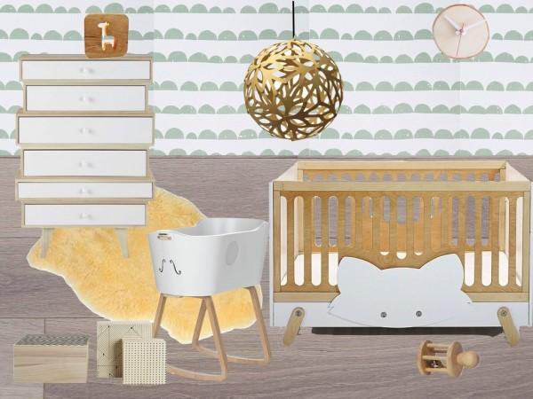 chambre bébé scandinave maison du monde