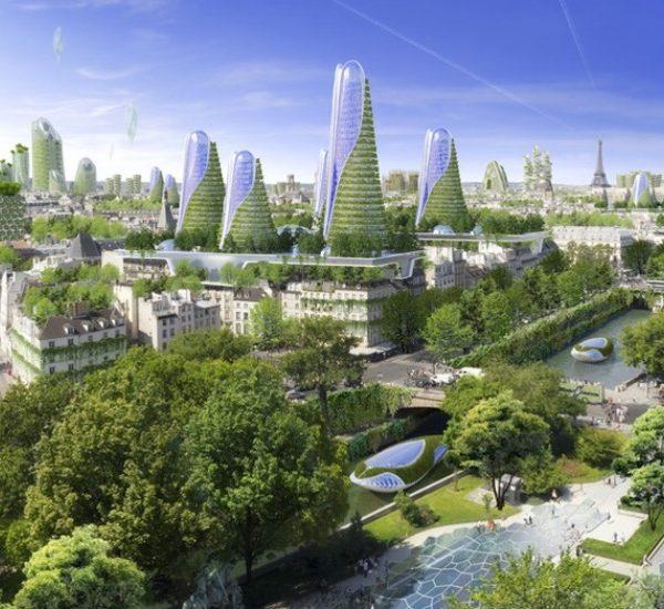 Vincent Callebaut Architecte paris 2050