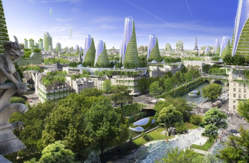 Vincent Callebaut Architecte paris 2050