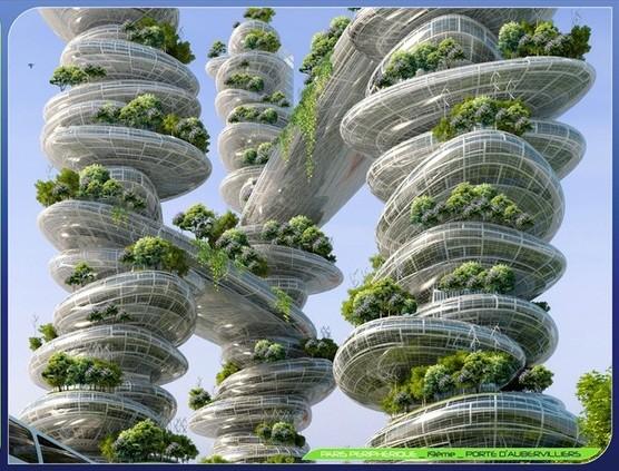 Projet paris 2050 paris smart city 2050 vincent - Piscine des tourelles porte des lilas ...