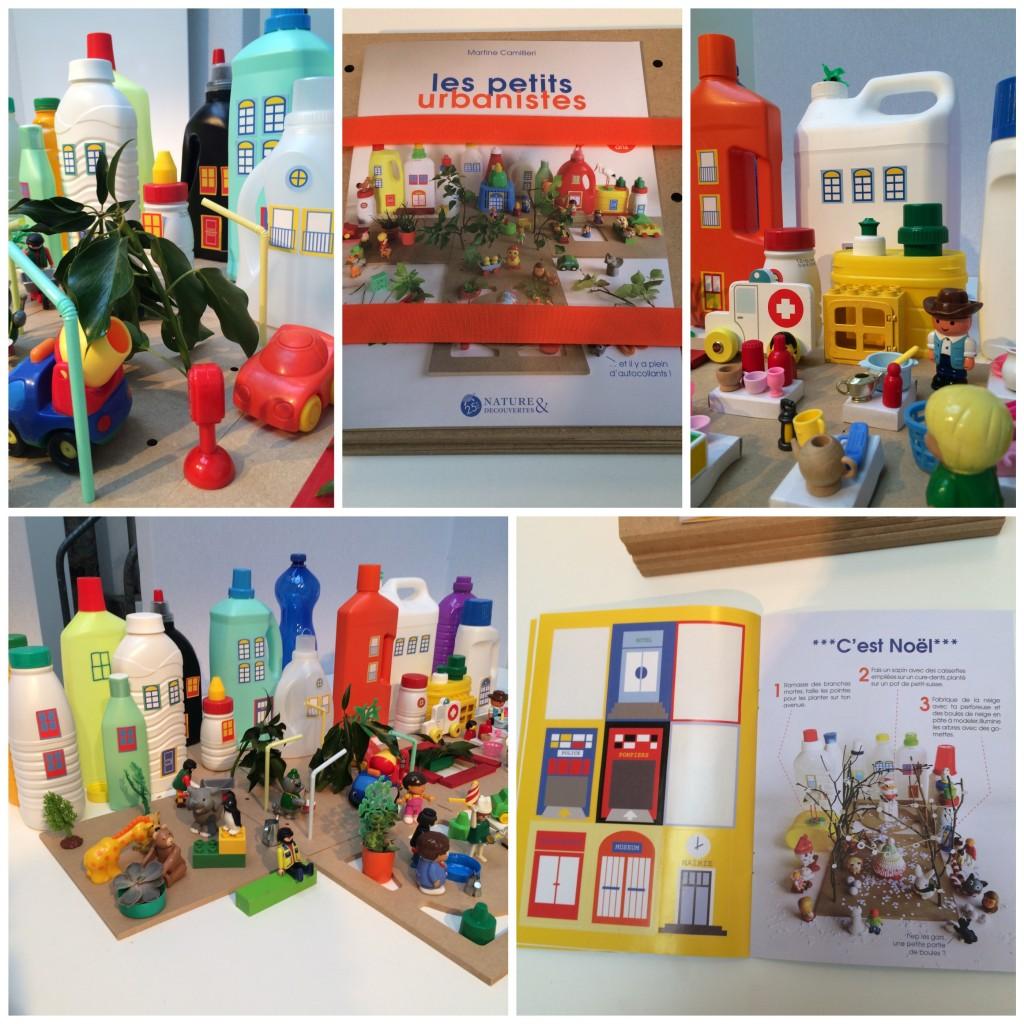 Nature et découvertes 25 ans. Les petits urbanistes bouteille plastique jeu autocollant. www.clemaroundthecorner.com