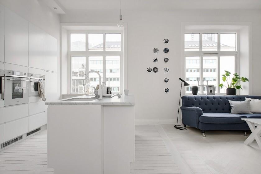 un int rieur blanc calme et lumi re blog d co architecture d coration d int rieur clem. Black Bedroom Furniture Sets. Home Design Ideas